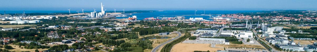 Luftfoto Kalundborg