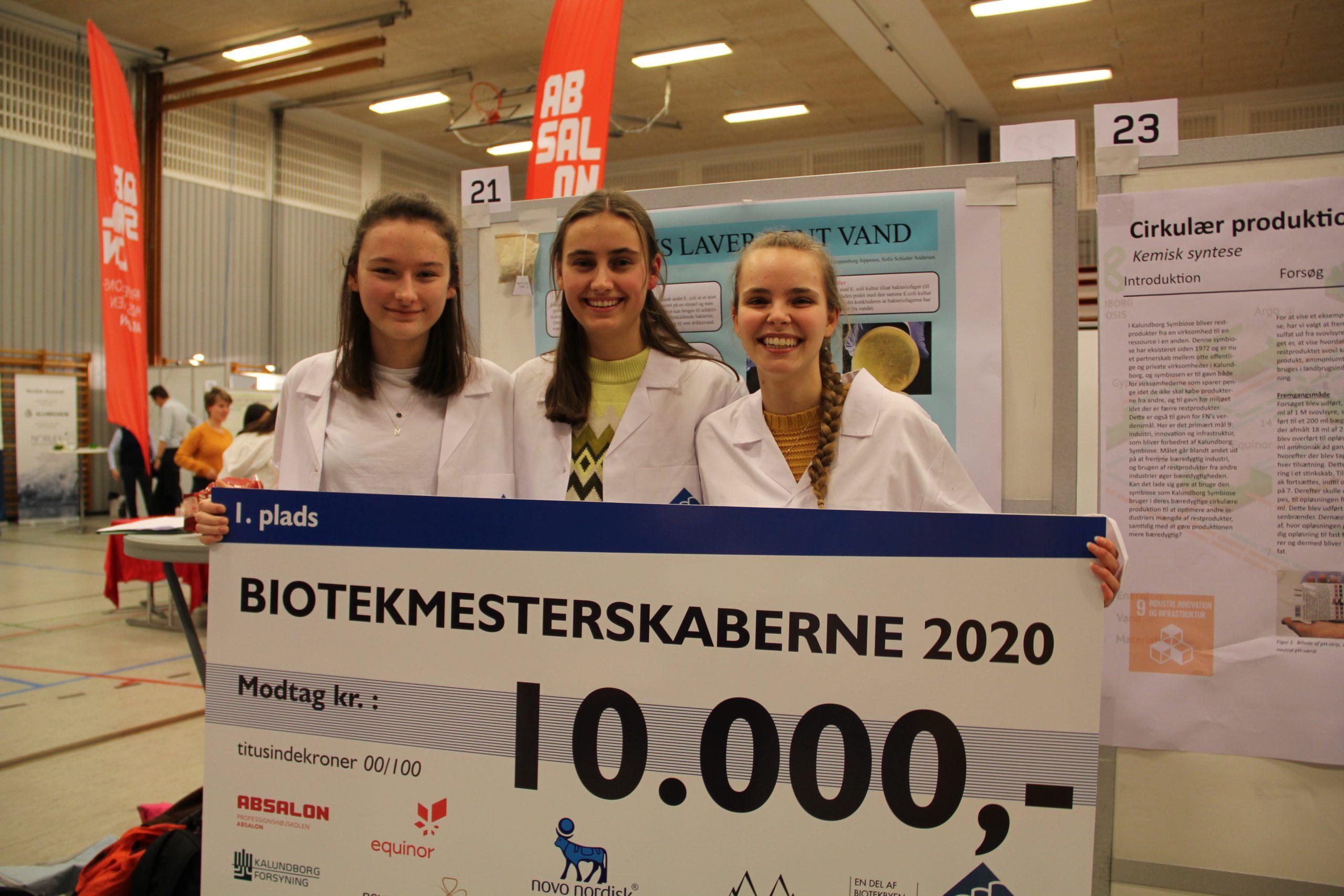 Vindere af Biotekmesterskab